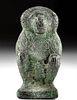 Egyptian Copper Baboon-Headed Thoth Figure