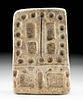 Fine Inca Stone Fortress Game Board