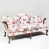 George II Carved Mahogany Sofa