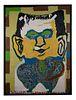 William L. Hawkins (1895-1990) <br> Frankenstein<br>  1983