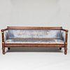 Classical Gilt-Metal-Mounted Mahogany Box Form Sofa