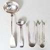 Group of Four American Coin Silver Table Wares