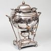 Dan Holy Parker & Co. Silver Plate Hot Water Urn