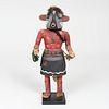 Hopi Painted Wood Kachina Figure