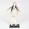 Arapaho Beaded Hide Doll, Probably Central Plains
