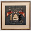 Japanese Export Sailor's Farewell Needlework