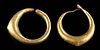 Roman Gold  Earrings (pr)