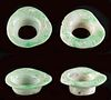 Lot of 2 Maya Jade Ear Spools