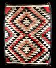Navajo Woven Wool Saddle Blanket - Ca. 1920