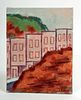 """L. Dennis Painting - """"Top of the Hill, Daly City"""" 2001"""