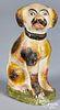 Pennsylvania chalkware dog, 19th c.