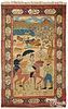 Isphahan pictorial carpet