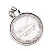 Medalla conmemorativa Salvador Dali Discovery of America Christopher Columbus en plata .900. Bisel diferente en plata .925. 36.1 g
