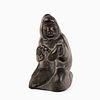 Inuit, Annessie Nowkawalk, Seal Hunter Carving