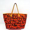 Louis Vuitton Monogram Graffiti Neverfull GM M93702 Tote Bag Orange