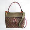 Louis Vuitton Monogram Tuileries Bezas M43159 Women's Handbag,Shoulder Bag Khaki,Monogram,Pink