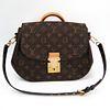 Louis Vuitton Monogram EdenMM M40581 Women's Handbag Bordeaux,Monogram