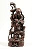 CARVED CHINESE FIGURAL SCULPTURE