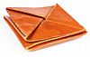Hermes Brown Leather Zulu Coin Pouch