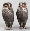 "Tiffany & Co. Silver ""Owl"" Shakers, Pair"