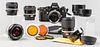 Nikon F3 with Five Nikon Lenses & Accessories
