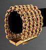 Karl Lagerfeld Five-Row Gold-Tone Chain Bracelet