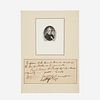 [Presidential] Harrison, William Henry, Autograph Check, signed