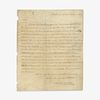 [Presidential] Jackson, Andrew, Autograph Letter, annotated