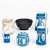 Six Pieces of English Ceramic Tableware