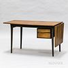 Mid-century Modern Painted and Teak Veneer Desk