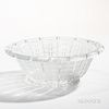 Lalique Acacia Crystal Bowl