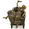 Austrian Erotic Bronze Figurine