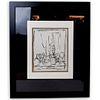"""Alberto Giacometti (Swiss, 1901-1966) """"The Studio"""" Lithograph"""