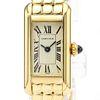 Cartier Tank Quartz Yellow Gold (18K) Women's Dress Watch 828006