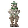A H.C. Evans Painted Cast-Iron Turn Over Clown-Form Target, Chicago, Illinois
