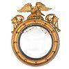A Federal Giltwood Bullseye Mirror
