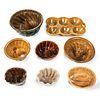 Eight Cake and Gelatin Molds