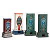 Four Columbus Vending Company Penny Match Dispensers