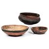 Three Scandinavian Turned and Painted Bowls