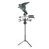 A Molded Copper and Cast Zinc Eagle Weathervane