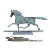 An American Copper Trotting Horse Weathervane, Circa 1880