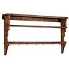 A Country Tiger Maple Tiered Shelf, Circa 1910