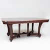 Art Nouveau Charles Plumet Stained Oak Extension Dining Table