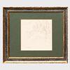 Gustave Doré (1832-1883): Design for an Architectural Pediment or a Publication