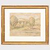 Maximilien Luce (1858-1941):  Landscape