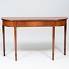 George III Style Mahogany Console Table