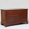 George III Provincial Oak Chest of Drawers