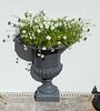 A Pair of Flat-Sided Wall Planters Height 24 x width 19 inches.