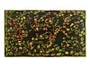 A Large Floral and Foliate Patterned Woven Carpet 17 feet 9 inches x 12 feet.