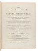 BOSWELL, James (1740-1795). The Life of Samuel Johnson. London: Henry Baldwin for Charles Dilly, 1791.